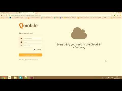 QMobile Demonstration – Technology for Social Inclusion