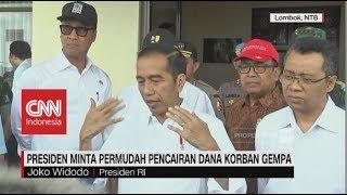 Video Jokowi Minta Permudah Pencairan Dana Korban Gempa Lombok MP3, 3GP, MP4, WEBM, AVI, FLV Oktober 2018
