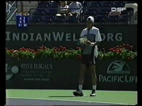 Lleyton Hewitt vs. Juan Ignacio Chela, Indian Wells
