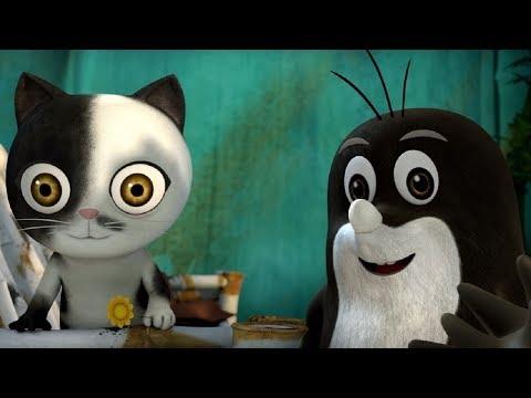 Кротик и Панда - все серии сразу - сборник 16-20 -  развивающий мультфильм для детей