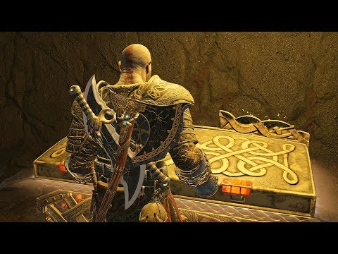 God of War 4 2018 The Realm of Fire No Damage Walkthrough Part 60 PS4 PRO