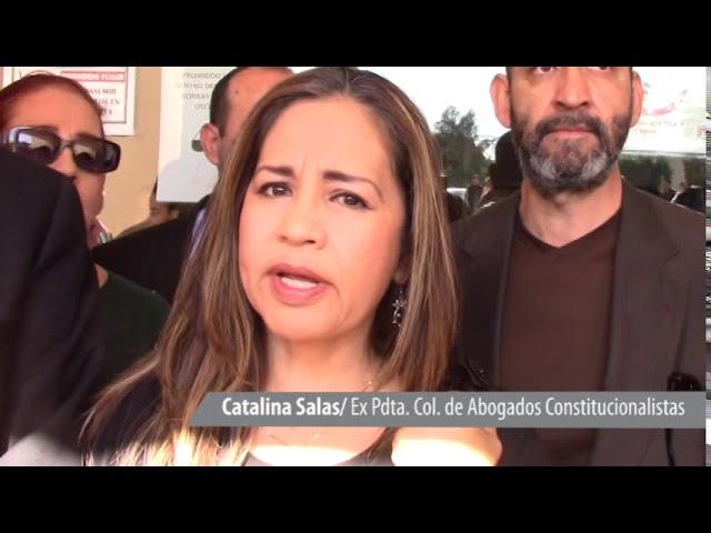 Abogados se manifiestan; exigen justicia por colega asesinado