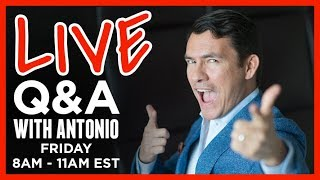 🔴 LIVE Q&A Ask Antonio Anything 🔴 RMRS Coffee & Style FRIDAY Sept 21th @ 8AM EDT US 🔴