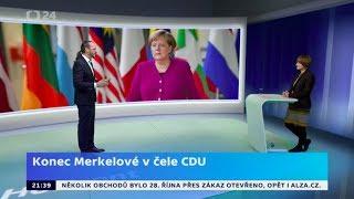 Angela Merkelová oznámila konec politické kariéry