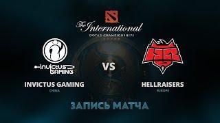 Invictus Gaming против HellRaisers, Первая игра, Групповой этап The International 7