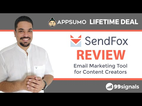 Watch 'SendFox Review & Tutorial - Beginner-Friendly Email Marketing Tool (+ AppSumo Lifetime Deal) - YouTube'