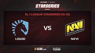 Team Liquid vs Natus Vincere, Game 1, SL i-League StarSeries Season 3, EU