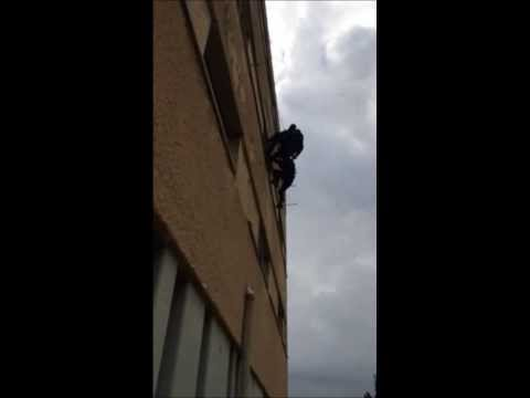 OMER1 Rappelling Demonstration