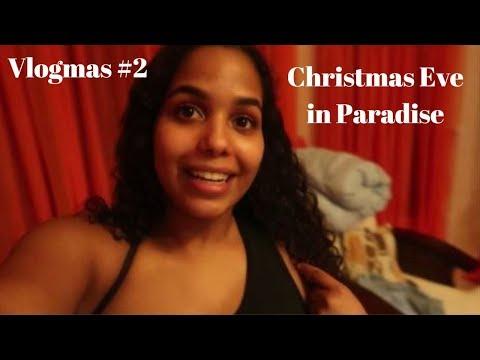 VLOGMAS#2: Christmas Eve Shenanigans in DR // Kayla Paige (видео)