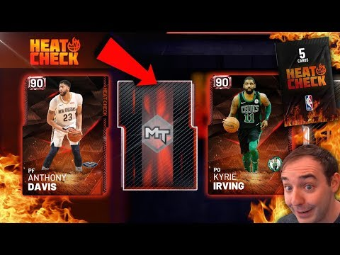 NBA 2K19 My Team MORE FIRE HEATCHECK PACKS! WE RAKING IN THE MT!!!