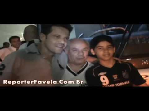 Encontro do Mãe da Fome com Argel ex jogadores do Santos