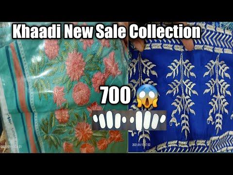 Flat 50% 40% off Khaadi sale 13 January 2021