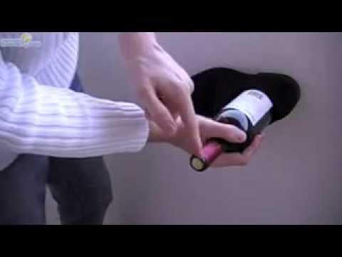 Abrir botella de viño con zapato