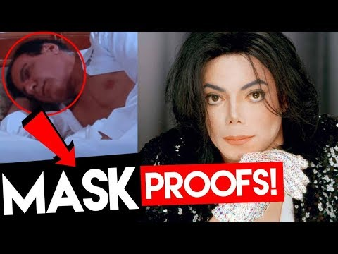 Michael Jackson  NEW disguise 2017 👉 MASK proofs ALIVE 100% Part 2