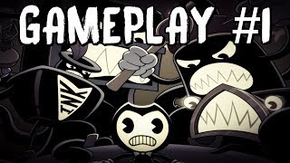 Bendy in Nightmare Run - Gameplay! [LIVE]