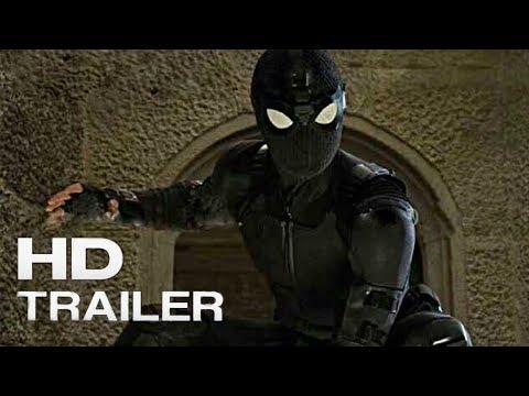 Spider-Man: Far From Home - Teaser Trailer (2019) Tom Holland Superhero Action Movie Concept HD.