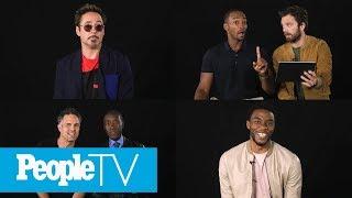 Video Kids Interview The Avengers: Chadwick Boseman, Robert Downey Jr., Sebastian Stan & More | PeopleTV MP3, 3GP, MP4, WEBM, AVI, FLV September 2018