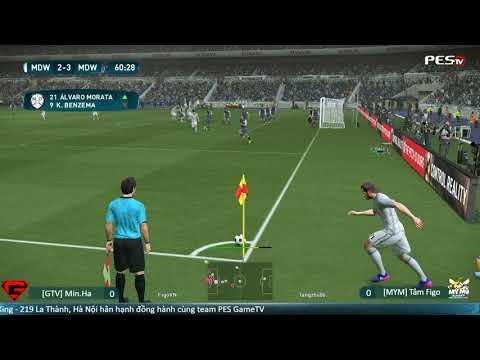 [GTV] Min.Ha vs [MYM] Tâm Figo | GameTV x MYM - Bắc Nam Cup 2017