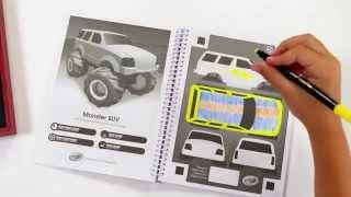Crayola Virtual Design Pro Car Collection Demo