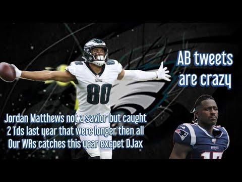 Philadelphia Eagles| Antonio Brown talking to NFL| Jordan Matthews better then Hollins