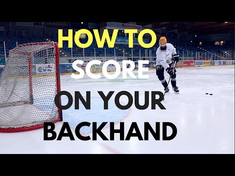 MHH Hockey Tutorial: How To Score On Your Backhand (видео)