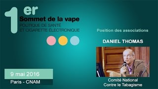 Positions des associations : Comité National Contre le Tabagisme - #sovape
