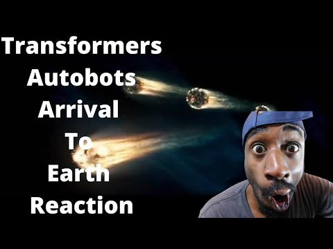 Transformers Autobots Arrival To Earth Reaction