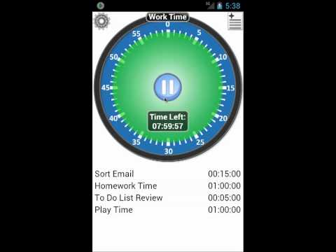 Video of Activity Timer - Trial