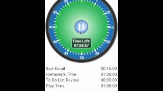 Activity Timer - Trial YouTube video