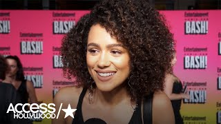 Nonton Nathalie Emmanuel Teases 'Fast & The Furious 8' | Access Hollywood Film Subtitle Indonesia Streaming Movie Download