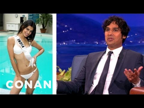Kunal Nayyar's Tips On Being Married To Miss India – CONAN on TBS