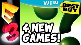 4 Mystery Wii U Game Demos At Best Buy! -  Nintendo E3 2013 News-  E3M13