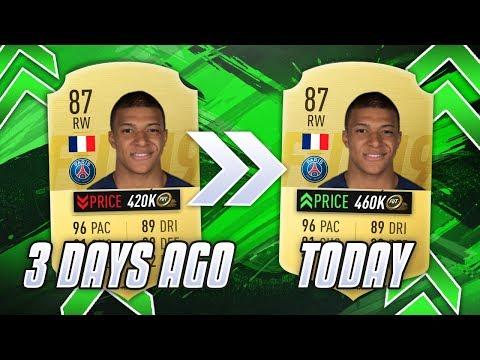 WHY IS THE MARKET UP? BLACK FRIDAY! FIFA 19
