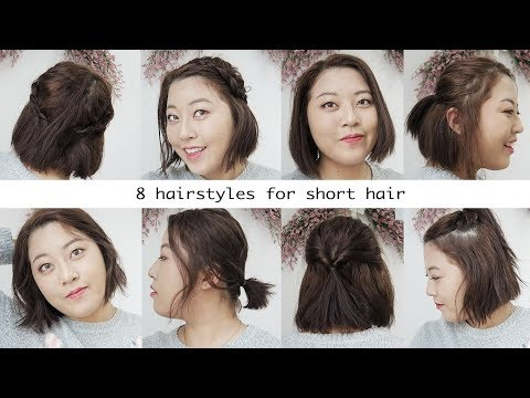 8 Hairstyles for Short Hair
