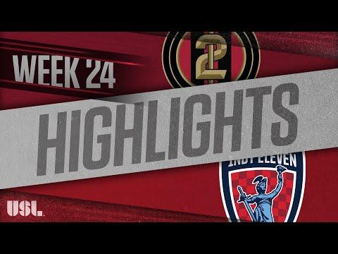 Atlanta United 2 - Инди Элевен 1:1. Видеообзор матча 26.08.2018. Видео голов и опасных моментов игры