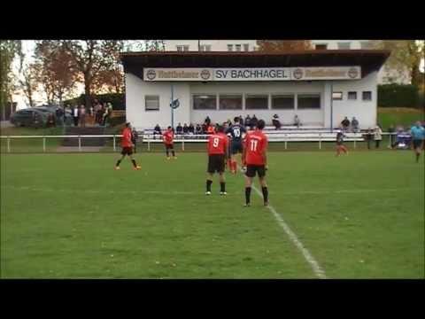 SV Bachhagel - TKSV Donauwörth 4 : 1 (27.10.2013) (видео)