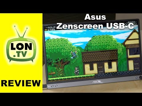 """, title : 'Asus ZenScreen USB-C Monitor Review - Portable 15.6"""" 1080p IPS Display - MB16AC'"""