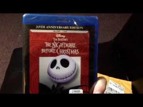 Unboxing The Nightmare Before Christmas Blu-ray
