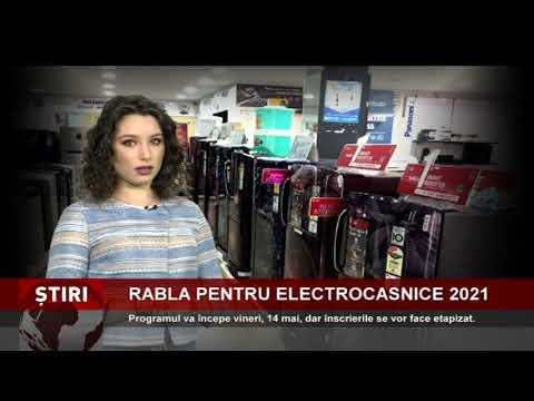 """Programul """"Rabla pentru electrocasnice 2021"""", lansat vineri"""