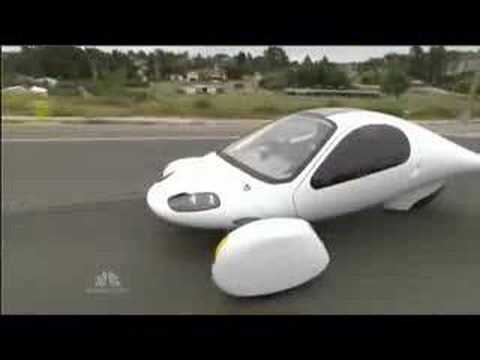NBC News piece about the Automotive x Prize - Aptera
