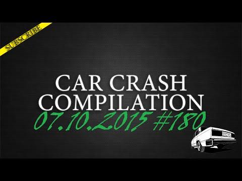 Car crash compilation #180 | Подборка аварий 07.10.2015