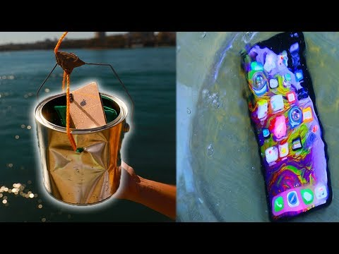 Ultimate iPhone XS Max Water Test - Waterproof or Not?