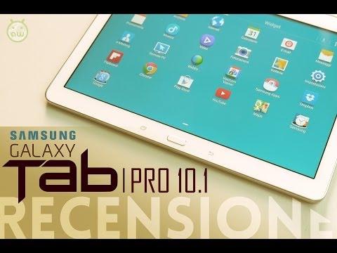 Samsung Galaxy Tab PRO 10.1, recensione in italiano