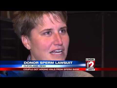 2 white Ohio women sue over sperm from black