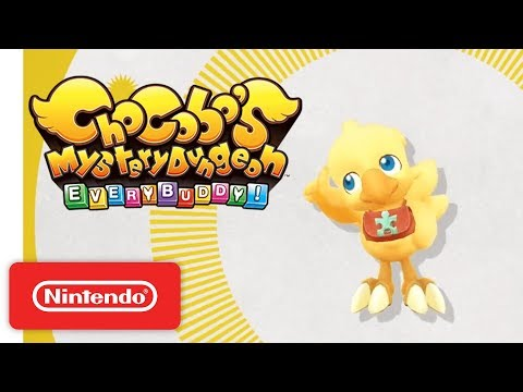 Gameplay Trailer - Nintendo Switch de Chocobo's Mystery Dungeon Every Buddy!