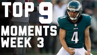 9 Things That Made Week 3 AWESOME | NFL Highlights by NFL