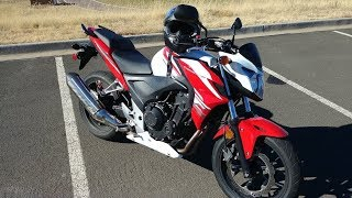 9. 2015 CB500F 6 Month Review