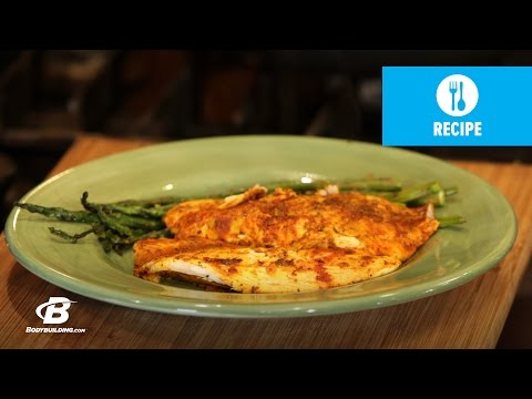 Healthy Recipes: Lime And Curry Tilapia