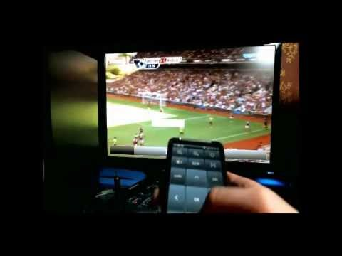 Video of IP-TV Player Remote