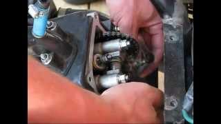 7. HasSse justerar ventiler Scooter 4-takt 50-150cc